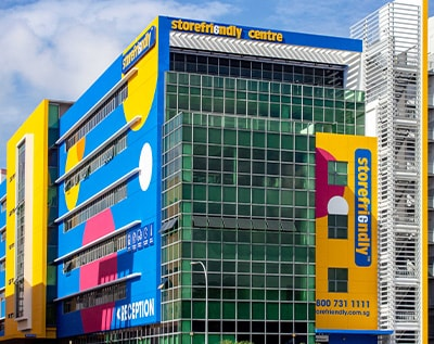 Store-Friendly Singapore office